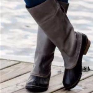 Sorel Slimpack Waterproof High Boots Pebble/Quarry